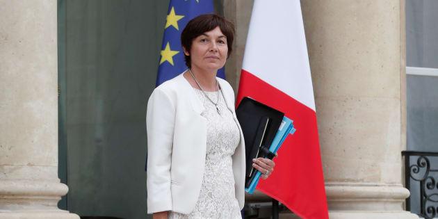 La ministre des Outre-mer, Annick Girardin, députée sortante de Saint-Pierre-et-Miquelon.