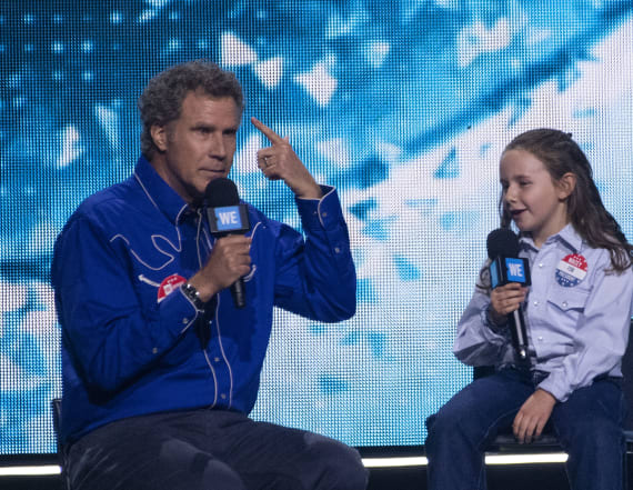 Will Ferrell makes first appearance after accident