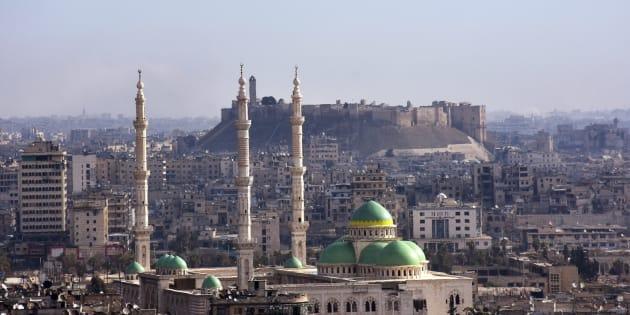 L'armée syrienne a pris le contrôle de la Vieille Ville d'Alep, où se situe notamment la Citadelle, ici en illustration.