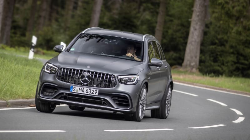 2020 Mercedes Amg Glc 63 Glc 63 S Coupe First Drive Review