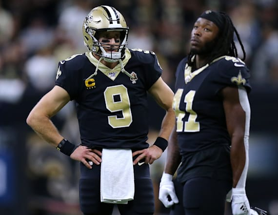 Saints player announces plans to kneel in 2020