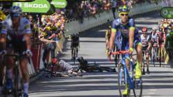 Sagan exclu du Tour pour ce coup de coude sur Cavendish dans le