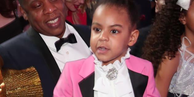 Blue Ivy, la fille de Beyoncé et Jay-Z aux Grammy Awards 2017