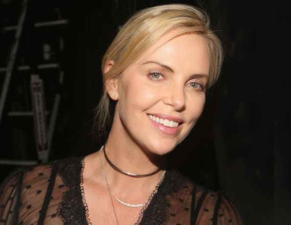 Charlize Theron punched Teri Hatcher in the face