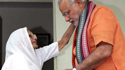 PM Modi Skips Yoga, Catches Up With Mother Over