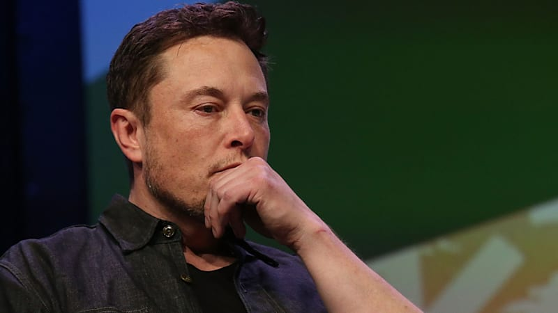 Elon musk speaks on stage during the westworld featured session sxsw picture id930443290