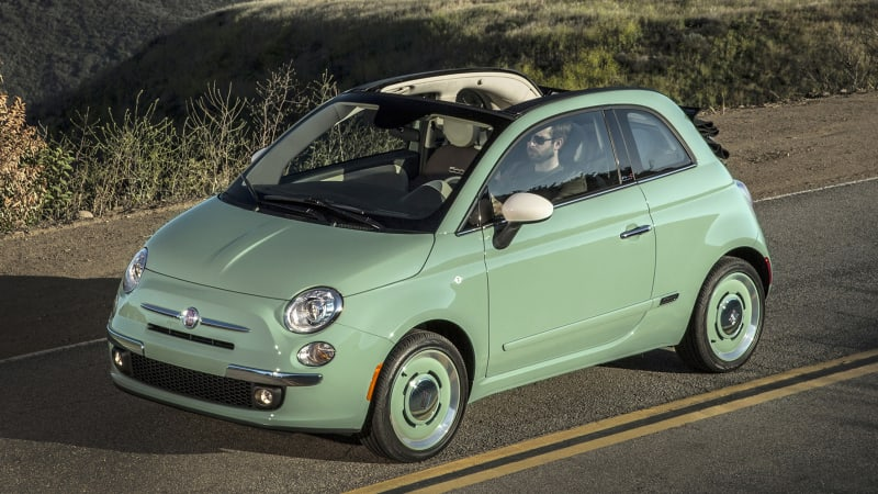 Fiat opens up vintage-style 1957 Edition to 500 Cabrio - Autoblog