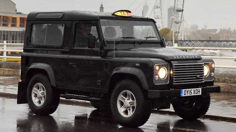 Land Rover Builds A London Taxi Out Of Rugged Defender W