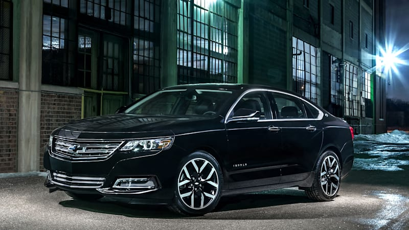 Chevy Impala shows its dark side with new Midnight Edition ...