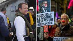 Macron à Saint-Martin, manifs en métropole: La guerre des images fait
