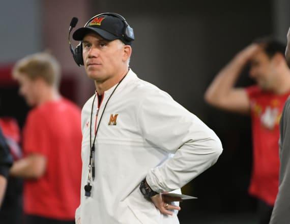 Fired Maryland coach Durkin finds work with Alabama