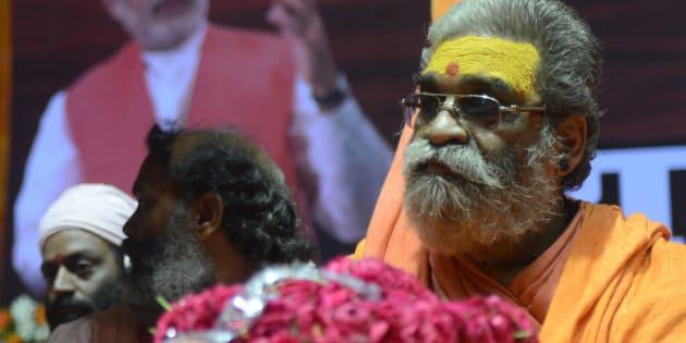 File photo of Hindu spiritual leader Vasudevanand Saraswati.
