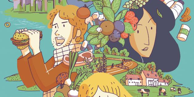 Comment mangerons-nous en 2050 ? Cette bande dessinée conçue par des experts français se projette dans 30 ans