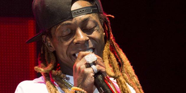 Lil Wayne à la Nouvelle Orléans, le 25 août 2017.