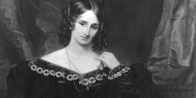 Mary Shelley (1797 - 1851), escritora británica autora de 'Frankenstein'.