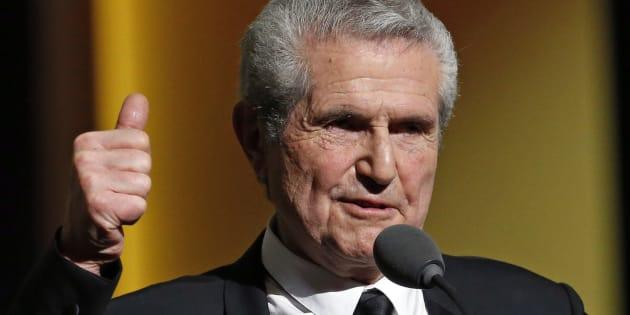 Claude Lelouch a présidé la 41ème cérémonie des Césars.  REUTERS/Philippe Wojazer
