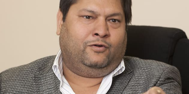 Indian businessman, Ajay Gupta.