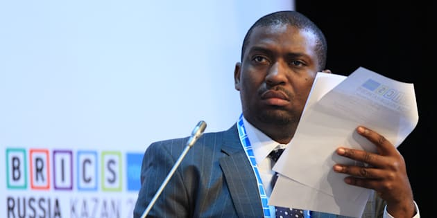 Deputy minister of higher education and training, Buti Manamela