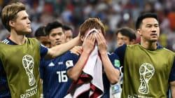 「何が足りないんでしょうね」。西野朗監督は試合後、悔しさをにじませた(ワールドカップ・日本対ベルギー戦)