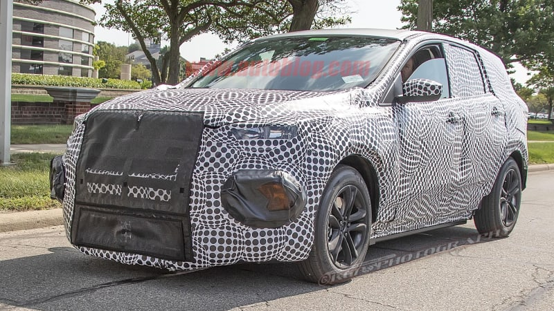 2020 Ford Mach 1 Performance Crossover Ev Possibly Spied Autoblog