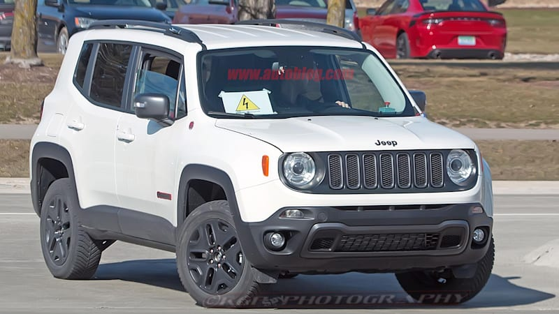 Jeep Renegade Phev Is About To Begin Production Fiat Chrysler Says Autoblog