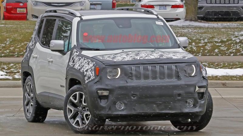 2019 Jeep Renegade reveals front fascia details
