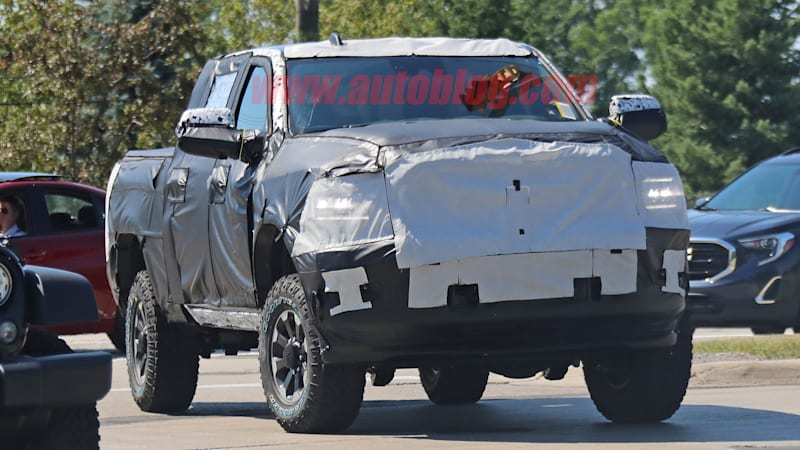 2020 Ram 2500 Power Wagon spied, retains live axles and