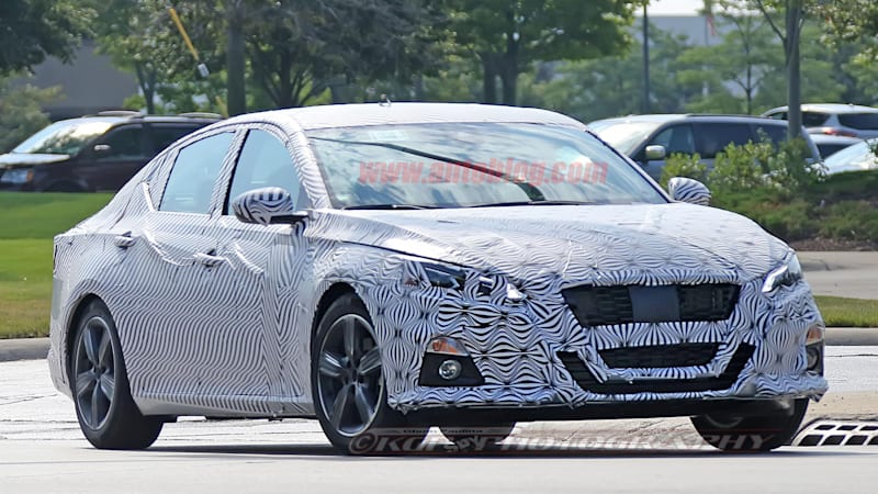 First Look At 2019 Nissan Altima Reveals Maxima Inspired