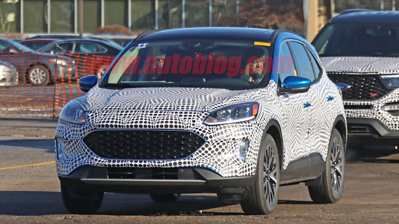 2020 Ford Escape Spy Photos, Pictures, Interior >> 2020 Ford Escape Crossover Prototype Captured In Spy Photos