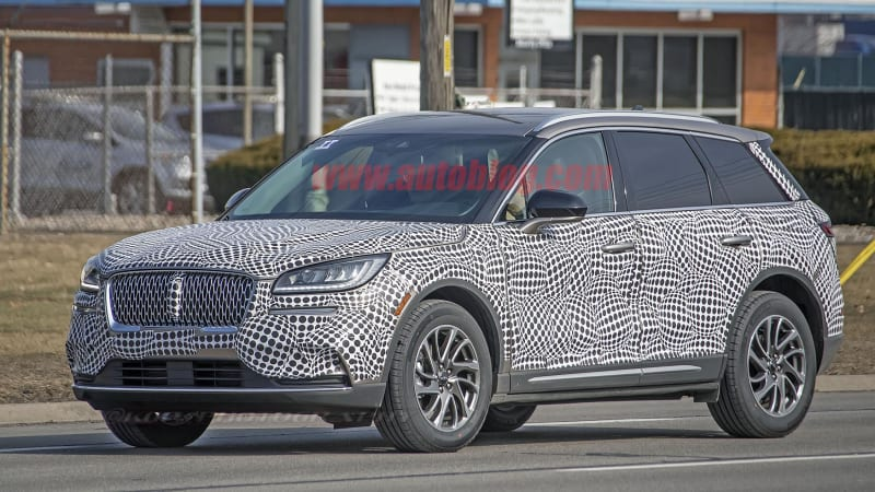 2020 Lincoln Corsair spied looking like a baby Aviator