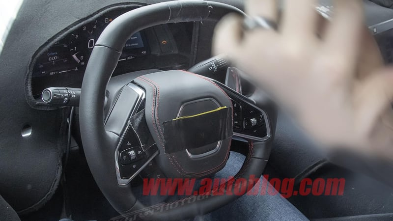 Chevy Corvette C8 interior spied | Autoblog