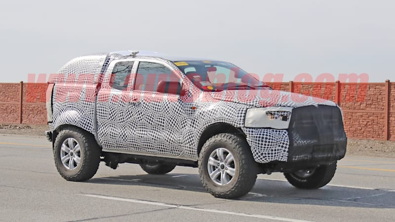 2020 Ford Bronco spy shots suggest solid rear axle with coil springs
