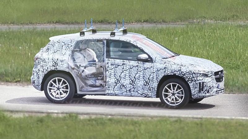 2021 Mercedes Benz Gla Class Spy Photos Autoblog