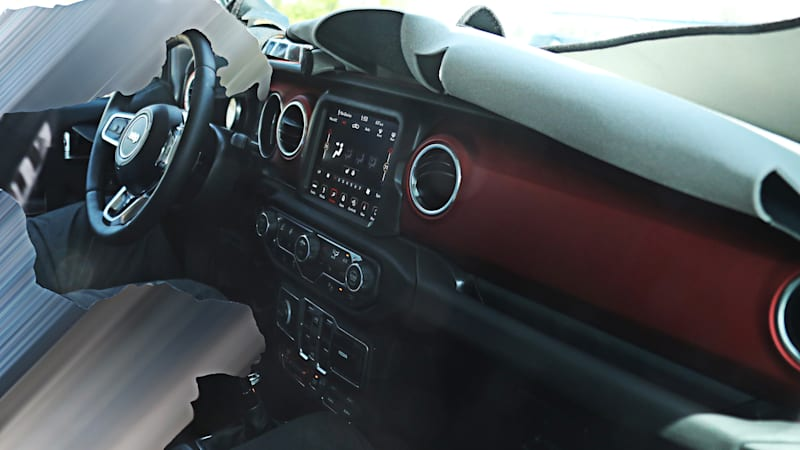 Here's our first look at the next-gen Jeep Wrangler interior