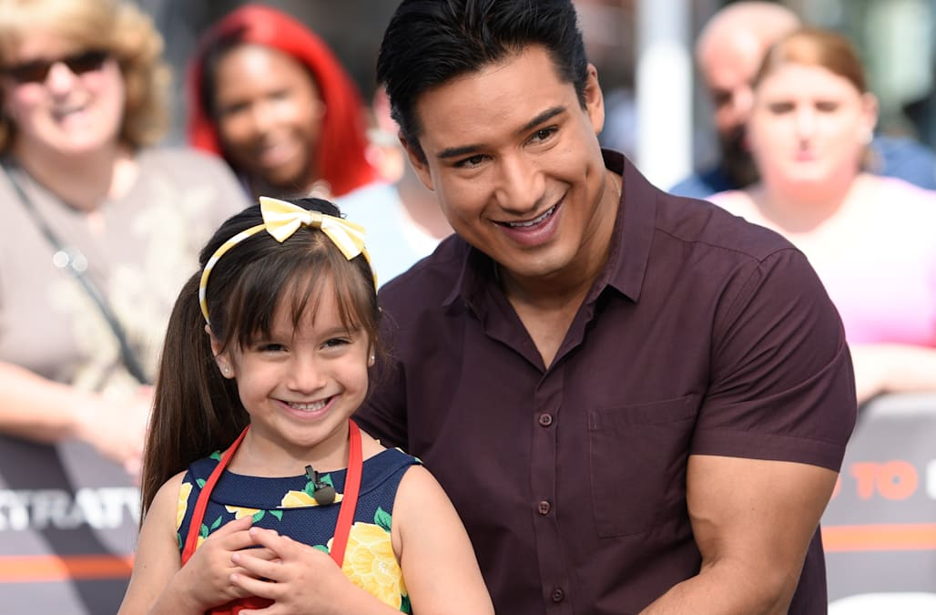 Mario Lopez Adorably Dances With His Daughter Gia At