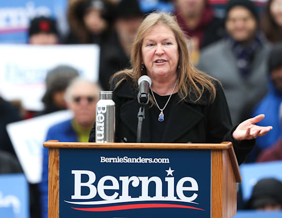 Is Jane Sanders the most powerful woman not running?