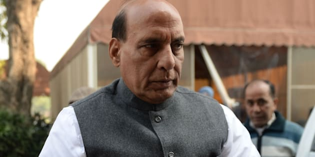 File photo of Indian Home Minister Rajnath Singh.