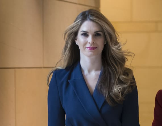 Hope Hicks subpoenaed in Trump obstruction probe