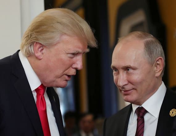 Trump speaks with Putin after re-election victory