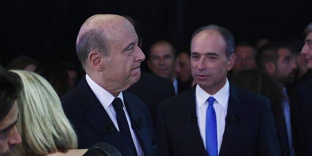 Le candidat de la droite décomplexée Jean-François Copé offre au maire de Bordeaux ses 0,3% des suffrages recueillis ce dimanche.