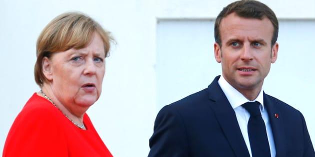 Merkel ritrova Macron, Italia ai margini: istituzioni Ue preoccupate per le scelte unilaterali di Roma