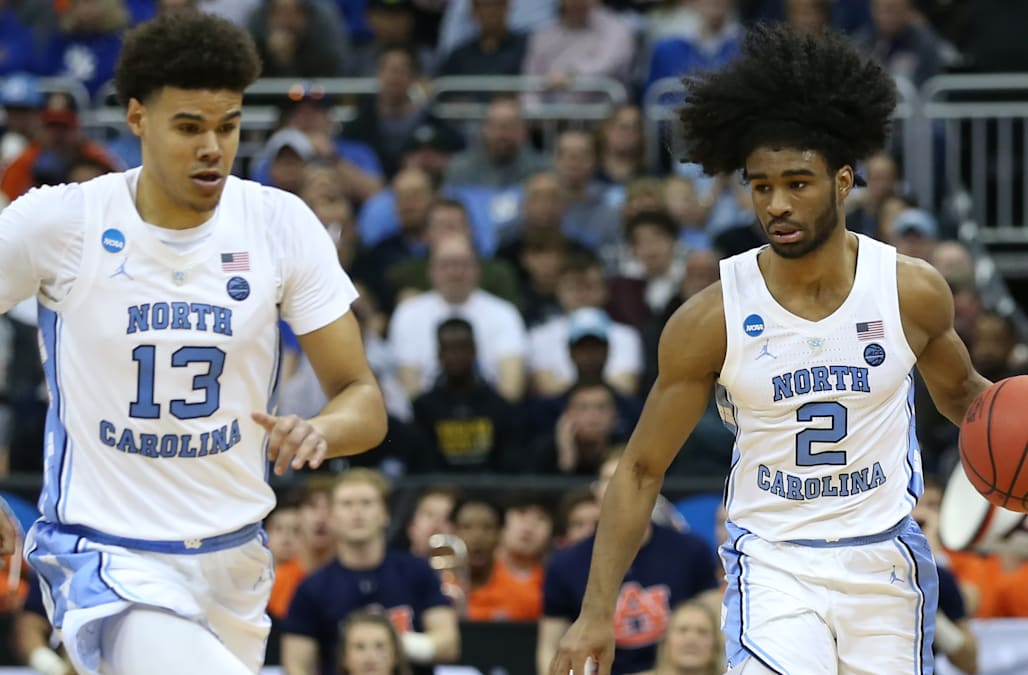 NBA lottery pick Coby White had an awesome reaction to