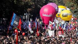 16.000 manifestants à Paris contre la réforme du travail selon la police, 55.000 selon la