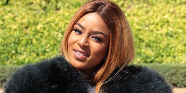 Media personality Jessica Nkosi.