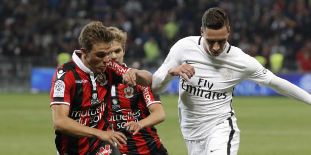 Nice écrase le PSG et le prive sûrement du titre de champion de France