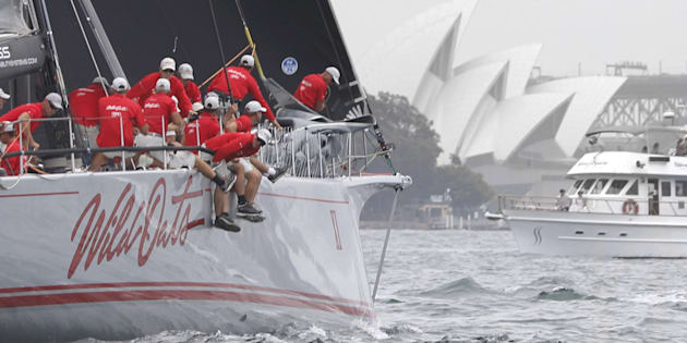 Wild Oats XI has retired from the race.