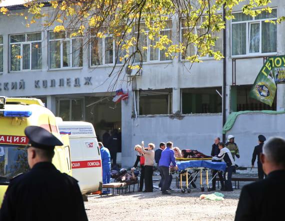 Student gunman killed 17 at Crimea college
