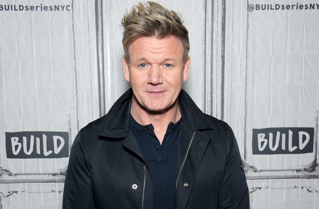 Gordon Ramsay Shares His Passion For Cooking With You Aol