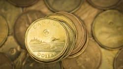 Le huard grimpe et atteint 80 cents