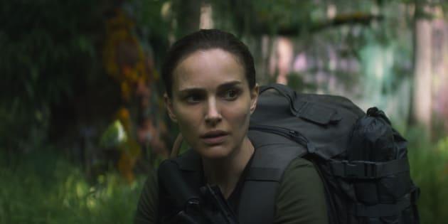 """Natalie Portman incarne Lena dans """"Annihilation"""" qui sort sur Netflix ce lundi 12 mars."""